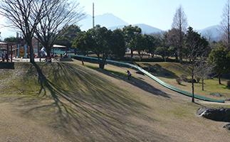 長いローラー滑り台