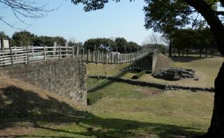 吊り橋に挑戦